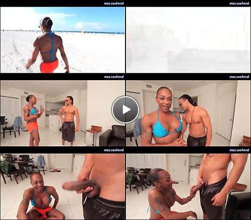 ebony shemale sex vids video
